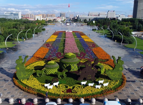 立体花坛设计