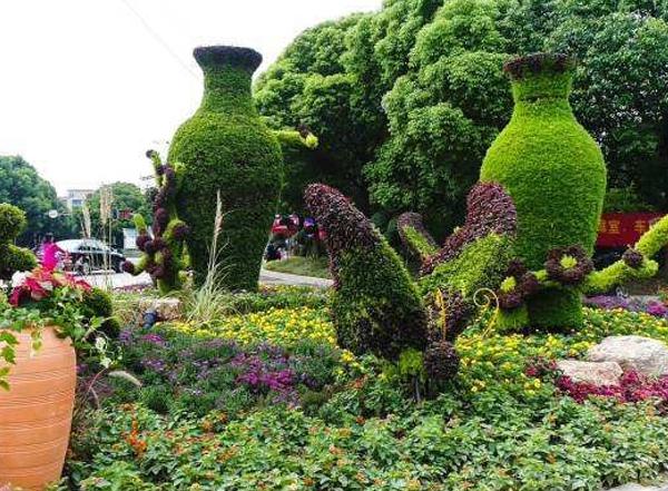 公园绿雕造型案例