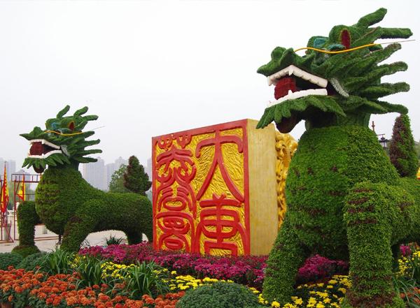 景观绿雕造型的选址应该怎么选?